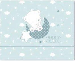 color azul S/ábanas microfibra para cuna Pirulos Baby Bear