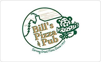 Bill's Pizza & Pub Gift Card ($15)