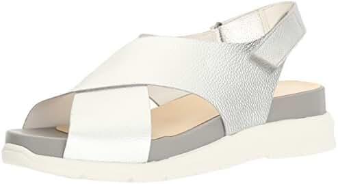 Nine West Women's Vizara Metallic Sandal