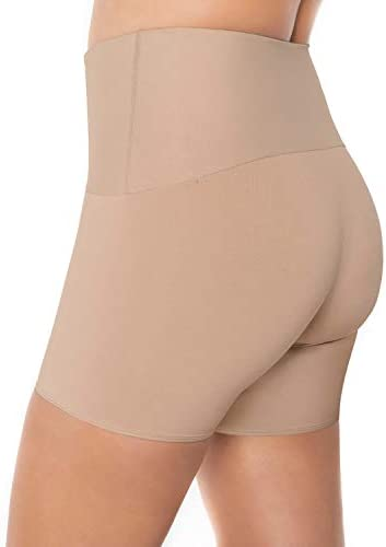 Leonisa tummy keep an eye on anti chafing prime waisted shaper shorts for girls