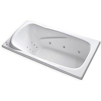 Carver Tubs At7136 Hygienic Aqua Massage 12 Jet