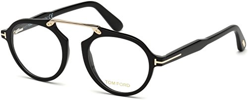 Tom Ford FT5494 Eyeglasses 001 Black w/Demo Clear Lens