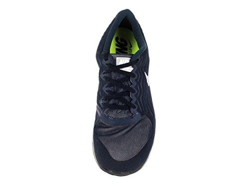 Nike Mens Gratis 4,0 Obsidian / Wolf Grå / Vit Löparsko 13 Män Oss