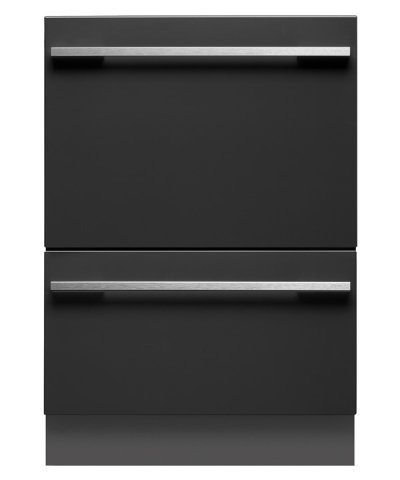 Fisher Paykel DD24DTI7 24″ Energy Star Qualified Tall Double DishDrawer Dishwasher with 9 Wash Cycles SmartDrive Technology 14 Place Settings Child Lock and Eco Options: Panel