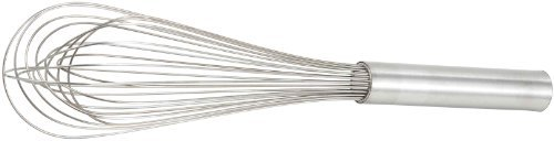 Winco Stainless Steel Piano Wire Whip, 18-Inch by Winco