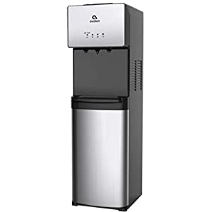 Avalon Limited Edition Self Cleaning Water Cooler Water Dispenser - 3 Temperature Settings - Hot, Cold & Room Water, Durable Stainless Steel Construction, Bottom Loading - UL/Energy Star Approved
