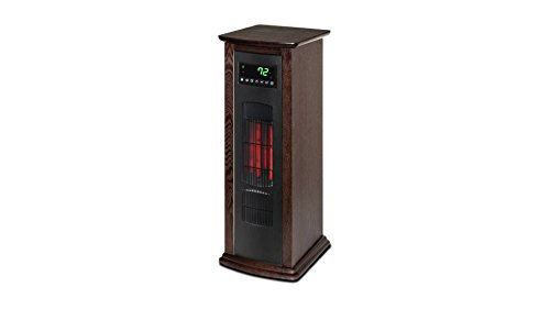 "Lifesource Infrared Heater Tower, 26.5"" Tall Infrared Heaters LifeSource"