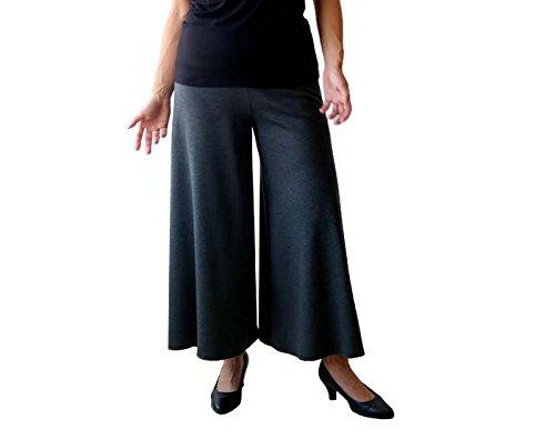 Flare pants, Wide leg pants, Grey pants, Wide pants, Pants skirt, Plus size pants by TasiFashion