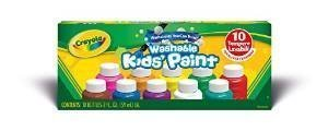 Crayola Safe for Kids Washable Paint Set - 10ct Classic Colors -