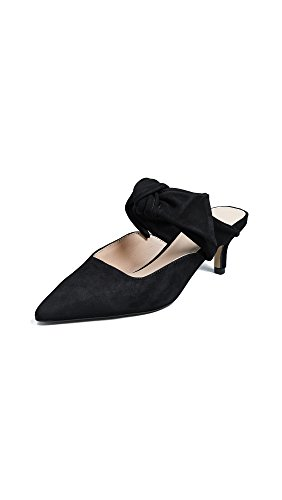 botkier Women's Pina Point Toe Mules, Black, 8.5 M US