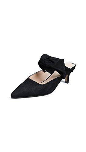 botkier Women's Pina Point Toe Mules, Black, 5 Medium US