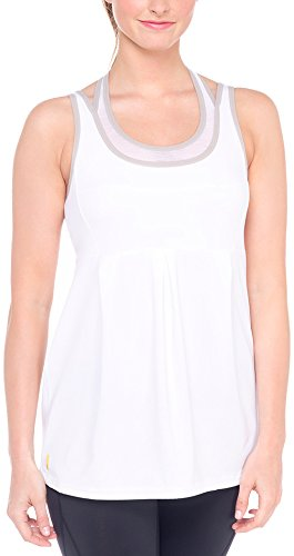 LOLE Women's Ella Tank Top, Large, White