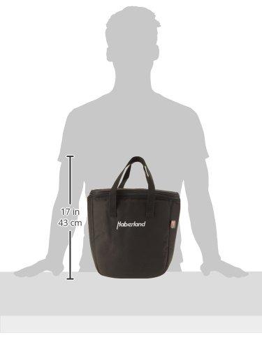 Haberland Uni Einzel-/Doppeltaschen Kühleinsatz, Schwarz, One Size