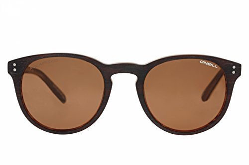 O'Neill Moon 103P Polarized Round Sunglasses, Matte Brown, 49 - Moon Sun And Sunglasses