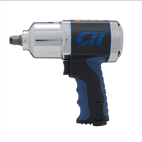Campbell Hausfeld TL140200AV 1/2 in. Impact Wrench Composite with 550 Ft. Lbs. of Torque (Non-Retail Packaging) ()