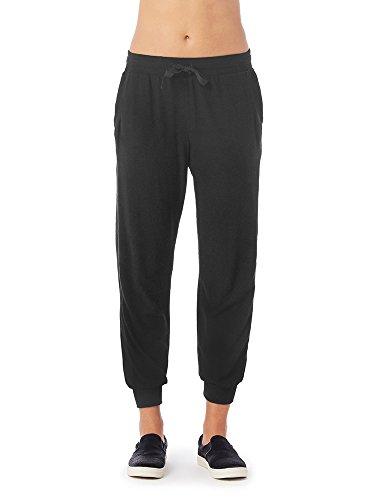 Michael Stars Madison Brushed Jersey Drawstring Pant (S, Black) (Pant Jersey Brushed)