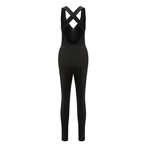 Newlife - Combinaison - Femme noir noir Taille unique