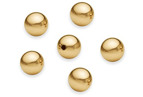 - 2 Pieces 12 mm 14K Gold Filled Round Smooth Beads