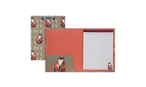 Capri Designs - Sarah Watts Padfolio with Clipboard (Fox)