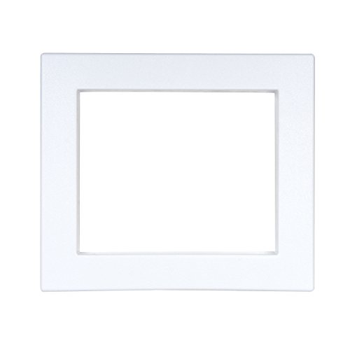 Oatey 38941 WMOB Center and Offset 1 Plastic Faceplate Quadtro, White
