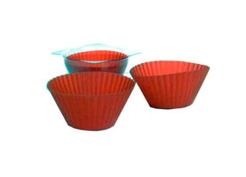 Red Silicone Baking Cups Case Pack 72 Home Kitchen Furniture Decor