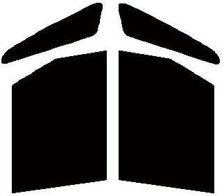 株式会社セブン 運転席・助手席 ハードコートフィルム ダイハツ タント L350S・L360S カット済みカーフィルム スーパーブラック