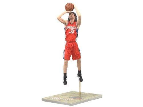 McFarlane Toys NBA Series 14: Charlotte Bobcats - Adam Morrison- Orange Jersey