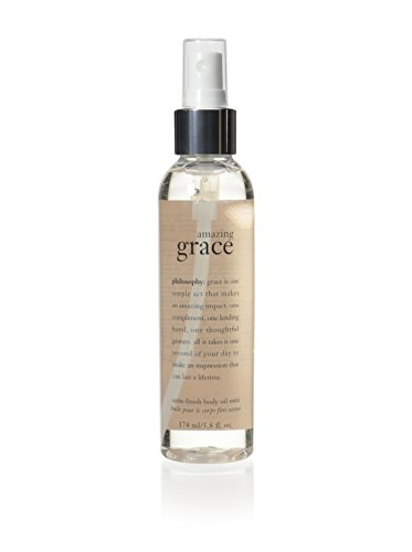 Satin Body Oil (Philosophy Amazing Grace Satin-Finish Body Oil Mist, 5.8 Ounce)