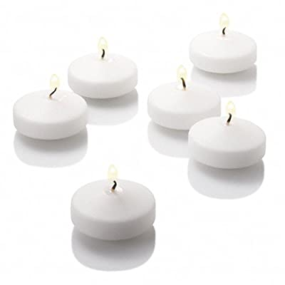 """36 Eastland Cylinder Vases and 36 Richland 3"""" Floating Candles"""