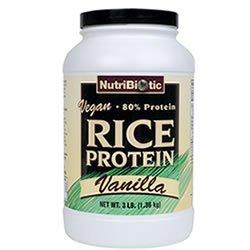 Nutribiotic de protéines de riz Vanille VEGAN £ 3
