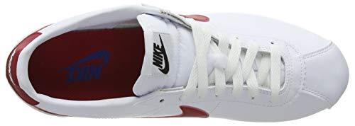 Gymnastique varsity Royal De white Classic varsity Red Chaussures Nike 103 Femme Blanc Cortez qwxIFqA6R