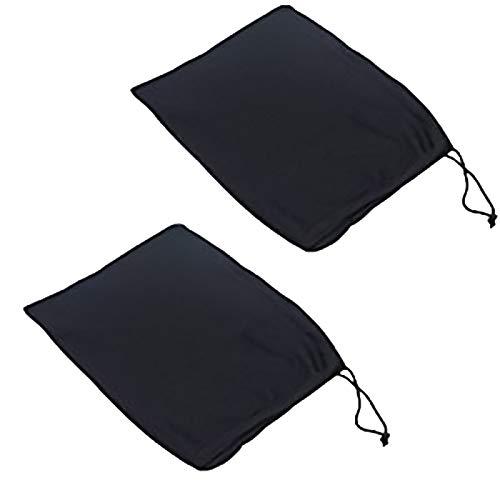 REHYSTG 2pcs Small Fishing Tackle Storage Bag Nylon Fishing Reel Protector Drawstring Bag Fishing Pouch for Fishing