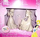 Disney Princess Sleeping Beauty and Snow White Paint Your Own Statue