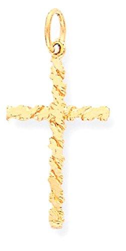 10k Gold Designer Heart Pendant - 8
