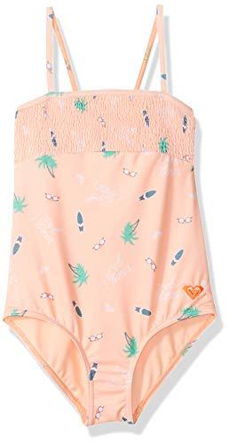 Roxy Little Girls' Salty But Sweet One Piece Swimsuit, Souffle Summer Hobbies Swim, 4 ()