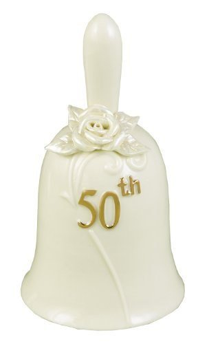 Hortense B. Hewitt Accessories 50th Anniversary Pearl Rose Bell