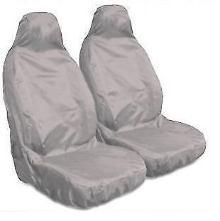 Grey MRE521 MR E SAVER/© Heavy Duty Waterproof Front Seat Cover Protectors