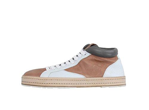 Jil Sander Leather Hi-top Sneakers 40 by Jil Sander