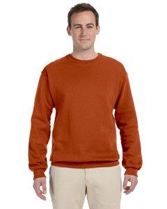 - Jerzees Men's NuBlend Crew Neck Sweatshirt, Texas Orange, Large