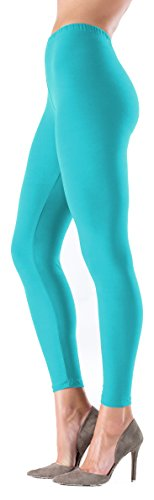 - 31Dxl6R DrL - LMB Women's Soft Classic Leggings Stretch Fit Sexy Contour 40+ Colors One Size