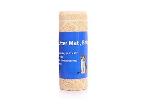 All-Absorb A19 Cat Litter Mat, Large, Beige
