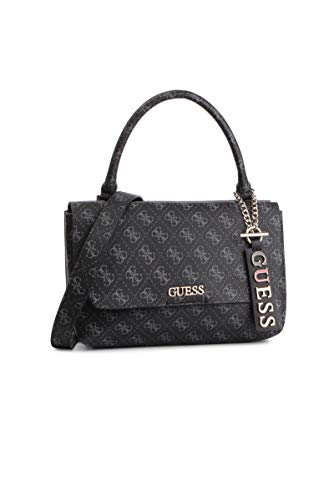 Grigio Guess H Handle Flap coal Donna 27x17x9 w Cm Mano Borsa A Top X Maci L rqHnwr6