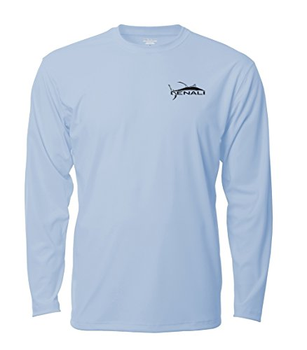 Denali Performance Men's teaser-Tournament UPF 50+ ProtectUV Mega Solar Long Sleeve T-Shirt (Fishing Teaser)