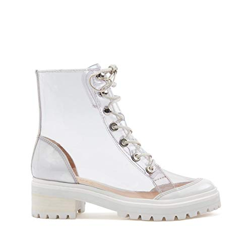 SCHUTZ Women's Elisangela Clear Fashion Bootie ()
