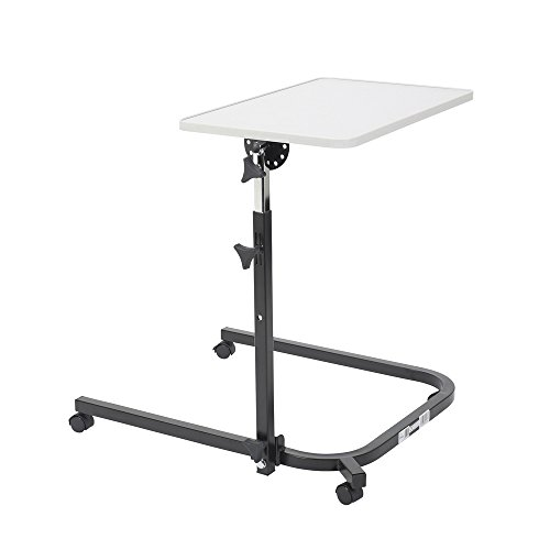 Drive Medical Deluxe Pivot And Tilt Overbed Table
