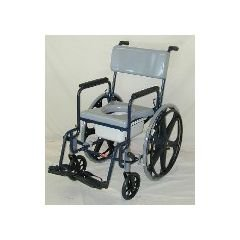 Stainless Steel Series 480 Shower Commode Chair