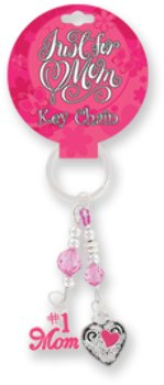 OTC Just for Mom Dangling Charm Key Chain