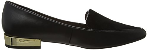 Aldo Abbatha32, Mocasines Mujer Negro (Black Synthetic)