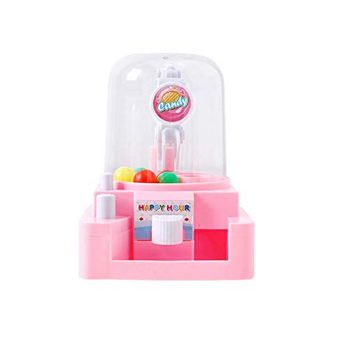 - Mini Claw Game Toys Candy Grabber Catcher Balls Machine Grabber Toy Creative Catcher Toy Educational Toy for Children Pink 1Set