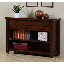 amazon com walnut cherry navigator console table cherry kitchen rh amazon com cherry sofa table plans cherry sofa table with glass top